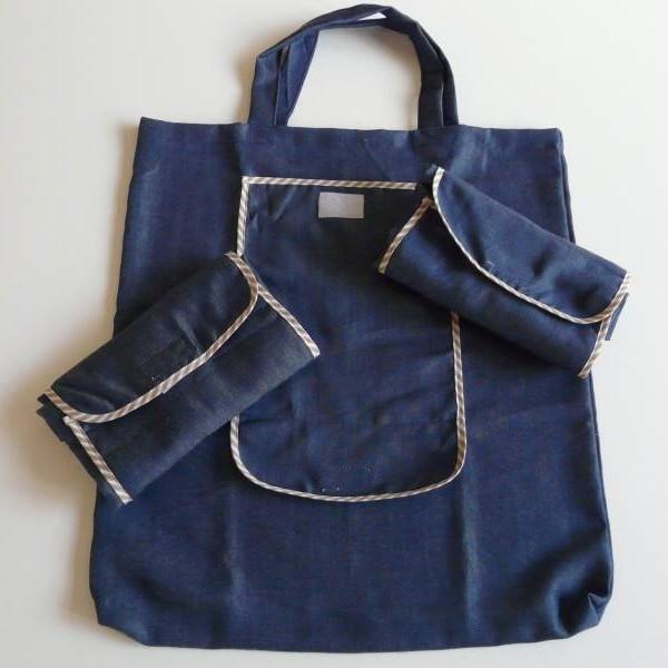 Összehajtható textil bevásárló szatyor