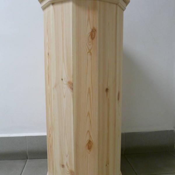Gázpalack takaró fából
