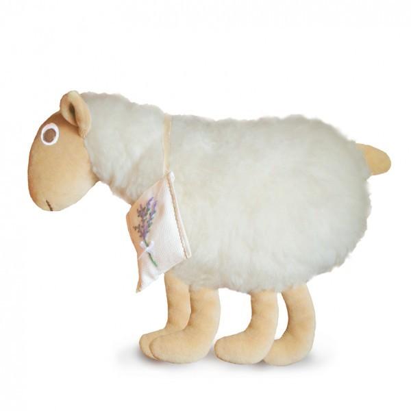 Dolly Bari bárányka párna kasmír gyapjúból bébyplüss lábakkal